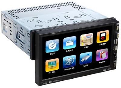 PTID-7002NR Detachable 7-Inch AM/FM Receiver Oversized Single Din