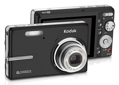 EasyShare M893 8.1 MP Digital Camera with Image Stabilizer (Black)