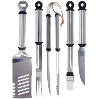5-Piece Stainless Handle Barbeque Tool Set - 02147X