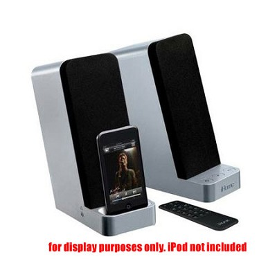 IH70SRC Computer Stereo Speaker System with Dock for iPod (Silver)