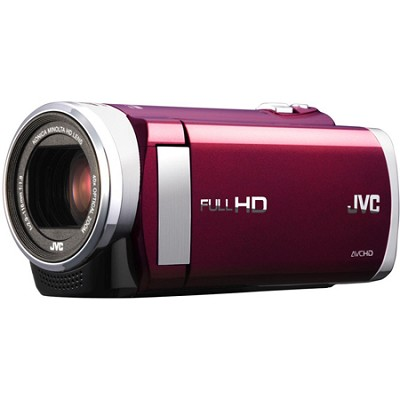 GZ-E200RUS - HD Everio Camcorder f1.8 40x Zoom 3.0` Touchscreen (Red)