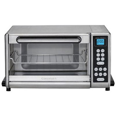 Toaster Oven Broiler Brushed Stainless (Certified Refurbished)