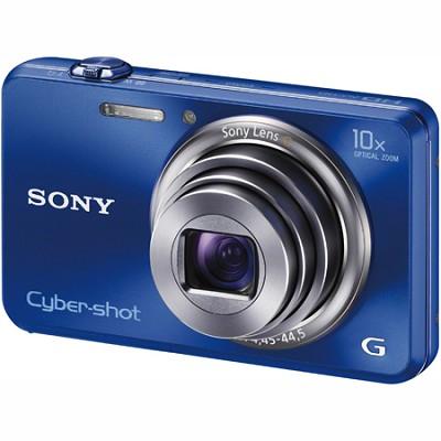 Cyber-shot DSC-WX150 18.2 MP 10x Optical HD Video 3D (Blue) - OPEN BOX