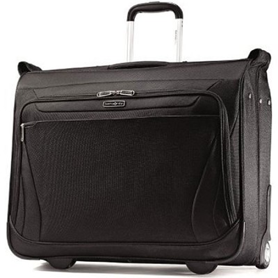 Aspire Gr8 Wheeled Garment Bag Suitcase - Black