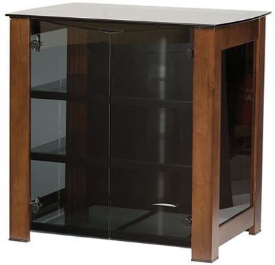 DFAV30M - Designer Series 4-Shelf A/V Cabinet for TVs up to 32` (Mocha Finish)