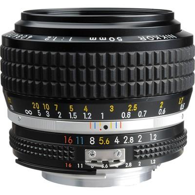 50MM F1.2 NIKKOR AI-S Manual Focus Lens - FACTORY REFURBISHED