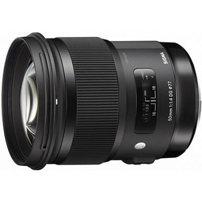 50mm f/1.4 DG HSM Lens for Nikon F Cameras