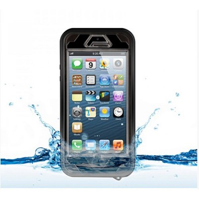 Vault Waterproof Cover for iPhone SE/ 5 / 5s - Black