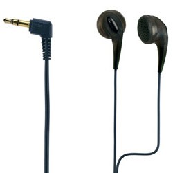 Ultra Soft/Comfortable Ear Bud Headphones (Black)