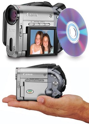 DC-10 DVD Camcorder With 10x Optical Zoom