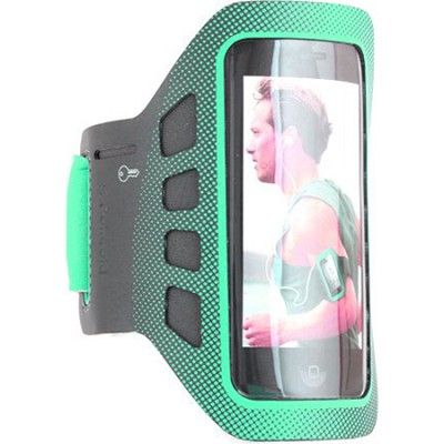 Sports Soft Shell ArmBand for Smartphones in Green