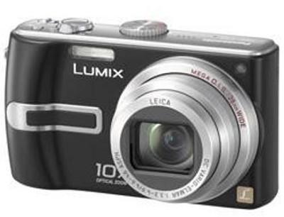 DMC-TZ3K Lumix 7.2 mega-pixel Digital Camera (Refurbished)