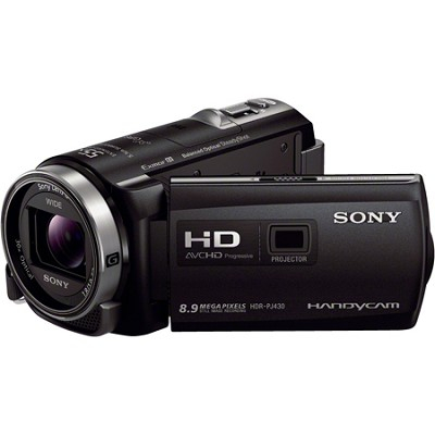 HDR-PJ430V 32GB Full HD Camcorder 8.9MP stills with Projector