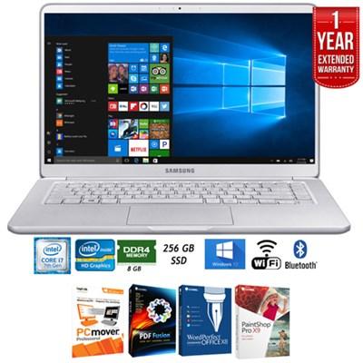 NP900X5N-L01US 15` Notebook 9 Intel i7-7500U 8GB Laptop+Ext. Warranty Pack