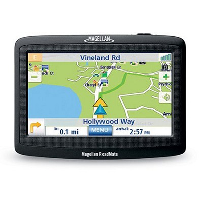 RoadMate 1400 Portable Car GPS Navigation System