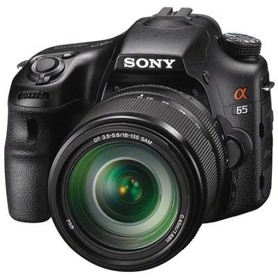 SLTA65VM - a65 Digital SLR Camera 24.3 MP with 18-135mm Zoom Lens