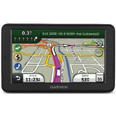 dezl 560LMT trucking GPS w/ Free Lifetime Maps and Traffic