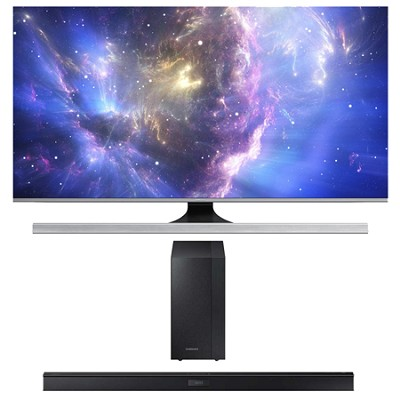 UN48JS8500 - 48-Inch 2160p 3D Smart UHD TV HW-J450 Soundbar Bundle