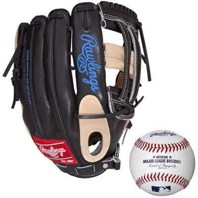 Pro Preferred 12.75 Inch Baseball Glove w/ Rawlings Baseball