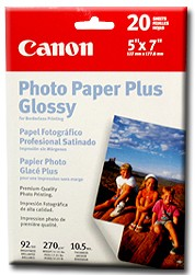 Pro Photo Paper Borderless 5` X 7` - 20 Sheets