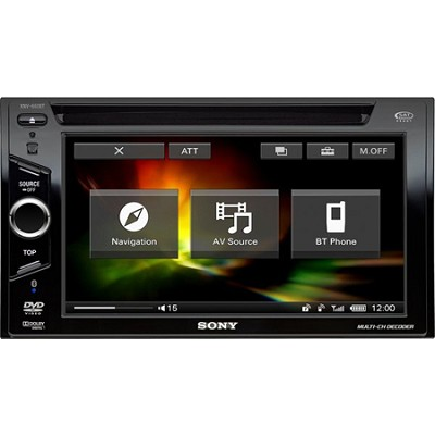 XNV-660BT 6.1` In-Dash A/V Receiver with TomTom Navigation