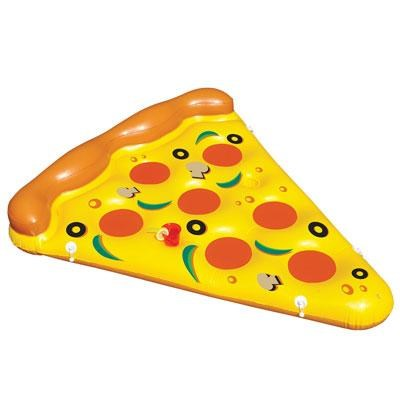 Giant Inflatable Floating Pizza Slice for Pool and Watersports 6' x 5' - 90645