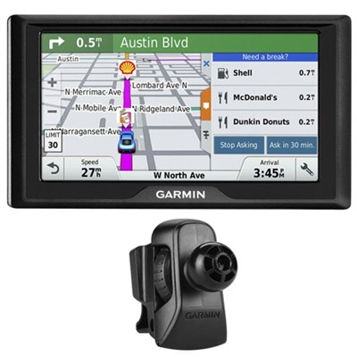 Drive 60LM GPS Navigator (US and Canada) - 010-01533-07 w/ Garmin Air Vent Mount