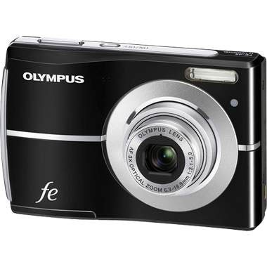 FE-45 10MP 2.5` LCD Digital Camera (Black)