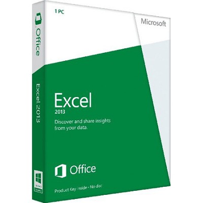 Excel 2013 Key Card Non-Commercial (1PC/1User)