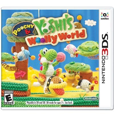 Poochy and Yoshis Woolly  3DS