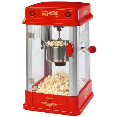 FPSBPP7310-000 Theatre-Style Popcorn Maker, Red