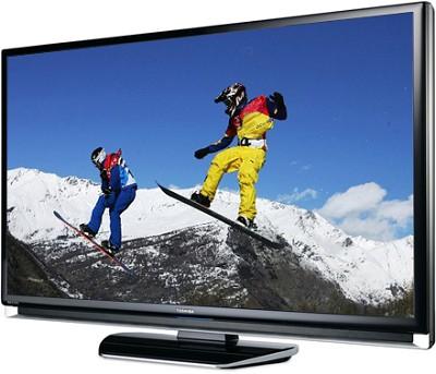 46RF350U - REGZA 46` High-definition 1080p LCD TV w/ Super Narrow Bezel