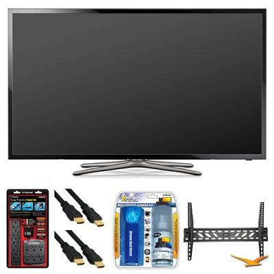 UN46F5500 46` 60hz 1080p WiFi LED Smart HDTV Wall Mount Bundle