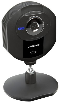 Wireless-G Internet Home Monitoring Camera