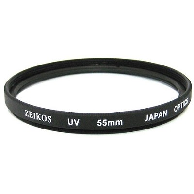 55mm Multicoated UV Protective Filter