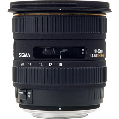Super Wide Angle 10-20mm f/4.5-5.6 EX DC Olympus Lens (Factory Refurbished)