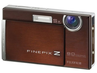 FinePix Z100fd 8PM Digital Camera (Cappuccino Brown)