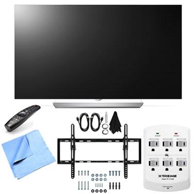 55EF9500 - 55-Inch 2160p Smart 3D Flat OLED TV Tilt Mount & Hook-Up Bundle