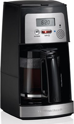 44601 Voice Activated 12 Cup Coffeemaker - OPEN BOX