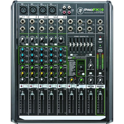 ProFX8v2 8-Channel Professional FX Mixer with USB