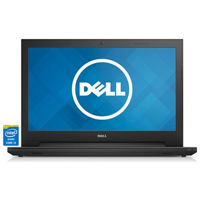 Inspiron 15 15.6` LED HD i3542-3333BK Notebook PC - Intel Core i3-4030U Proc.