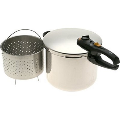 Duo 10 Quart Stainless Steel Pressure Cooker