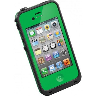 Waterproof Shockproof and Dirtproof iPhone Case for the iPhone 4S/4 - Green