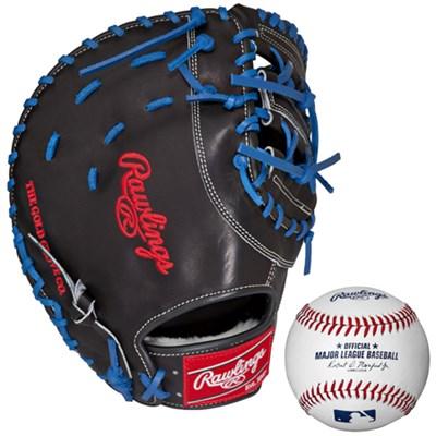 Preferred 12.75` First Base Mitt-Right Hand Throw w/ Rawlings Baseball