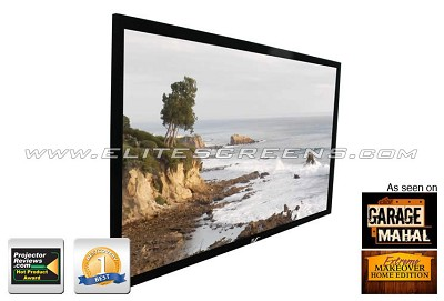 R150WH1 ezFrame Fixed Projection Screen (150` 16:9 AR)(CineWhite)