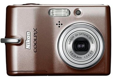 Coolpix L11 Digital Camera (Brown)