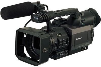 AG-DVX100B 3-CCD 24p Mini-DV Camcorder