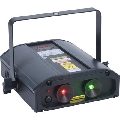 Galaxian 3D Green And Red Multi Beam Laser With 3D Type Gyration - OPEN BOX