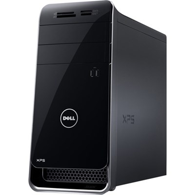 XPS 8700 Desktop - Intel Core i5-4460 3.20 GHz 12 GB RAM - Black - OPEN BOX