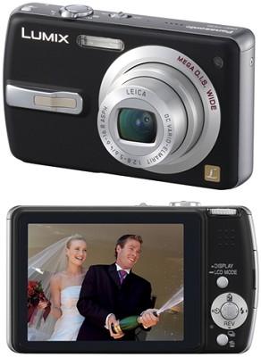 DMC-FX50 (Black) Lumix 7.2 MP Digital Camera w/ 3.6x Optical Zoom - OPEN BOX